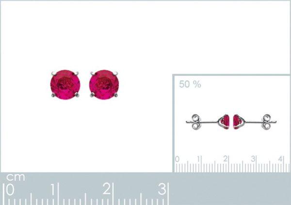 Zilveren oorbellen met salamander-20463