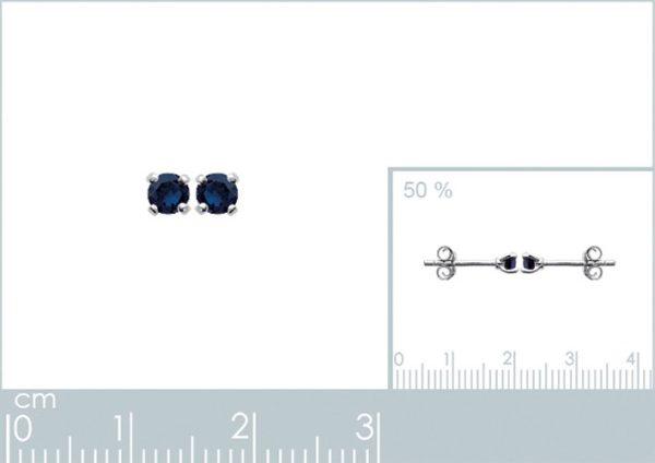 Zilveren oorbellen met salamander-20491