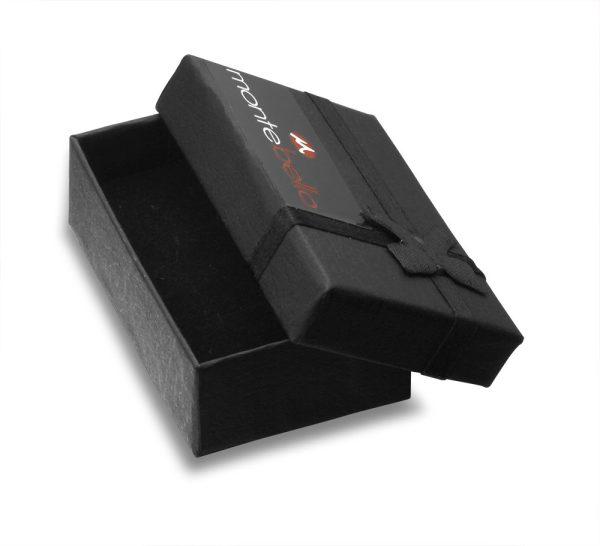 Montebello Manchetknopen Golfbal Black - Heren - Metaal - Sport - ∅16 mm -20118