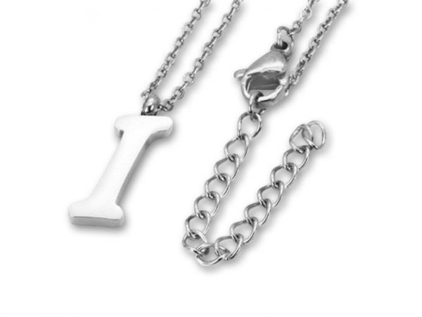 Amanto Ketting I - Unisex - 316L Staal PVD - Letter - 17 x 5 - 50 cm-0