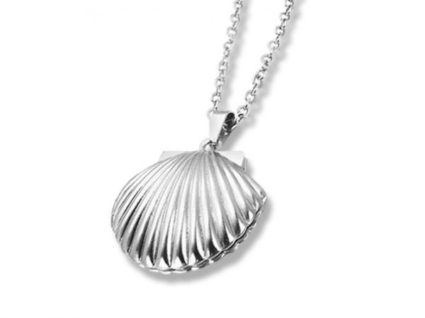 Amanto Ketting Elies - Dames - 316L Staal PVD - Schelp- 22x20 mm - 50 cm-0