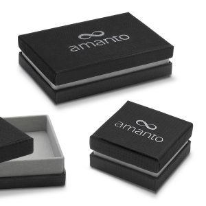 Amanto Armband Ember - 316L Staal PVD - ∅6mm - 18+3cm-21840