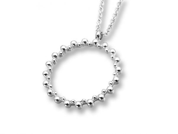 Amanto Ketting Elna Rond - Dames - 316L Staal PVD - Rond - ∅23 mm - 45 cm-0