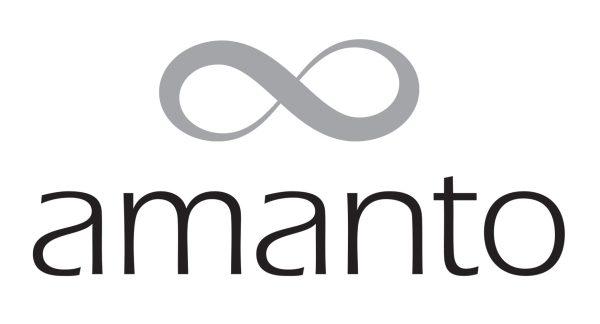 Amanto Armband Etkin Black - Dames - 316L Staal - Kraal - Zwart - 22+4 cm-22751