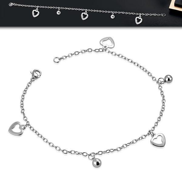Amanto Armband Estelle Cross - Dames - 316L Staal - Bedel - Kruisje - 17-24 cm-22700