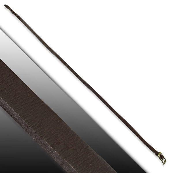 Amanto Armband Farran Brown - Leer - Bruin - Wikkel - 8mm - Aanpasbaar-23218