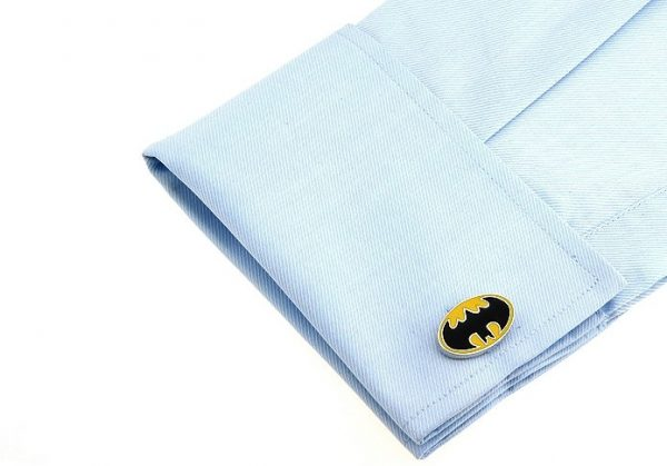 Montebello Manchetknopen Batman Y - 316L Staal - Email - 25x16mm-25403
