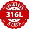 Montebello Armband Agus - Heren - 316L Staal - Peace Teken - 22cm-26157