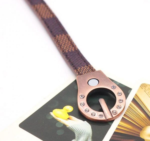 Montebello Armband Adina - Dames - Leer - Strass - Print - 20cm-25918