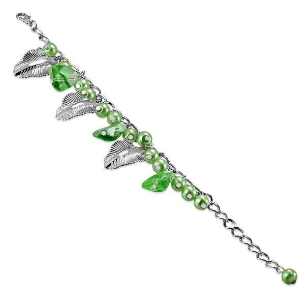 Montebello Armband Azia FBF066 - Dames - Glasbedels - Aanpasbare Lengte-0