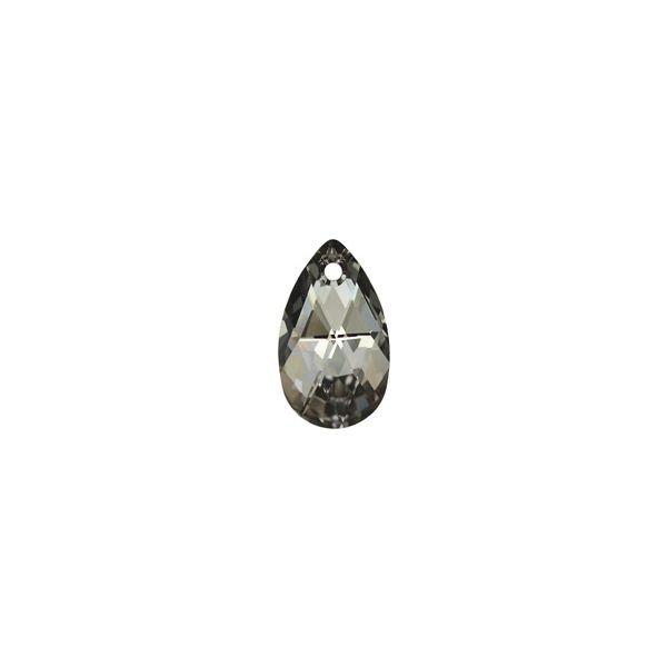 Montebello Ketting Jan DZ421 - Swarovski® Druppel - 925 Zilver Gerhod. - 16mm - 42cm-27141