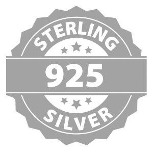 Montebello Ketting Pia DZ521H - Swarovski® Druppel - 925 Zilver Gerhod. - 16mm - 50cm-27320