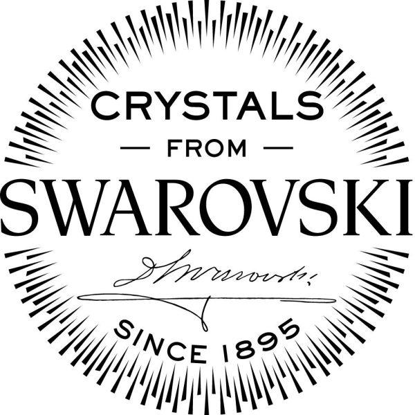 Montebello Ketting Jan DG510 - Swarovski® Druppel - 925 Zilver Verguld - 16mm - 50cm-26759