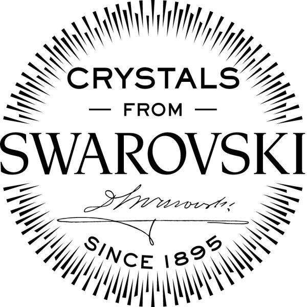 Montebello Ketting Jan DZ511 - Swarovski® Druppel - 925 Zilver Gerhodineerd - 16mm - 50cm-26781